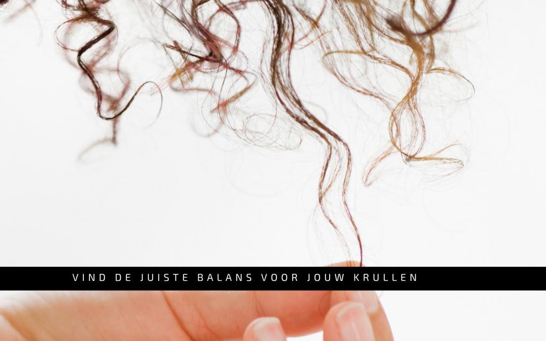 Vind de juiste balans voor jouw krullen